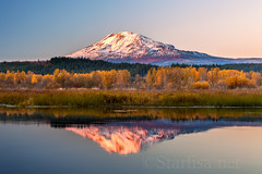 Alpenglow and Autumn