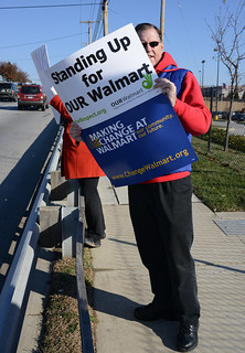 2013 Black Friday Walmart Protest 4