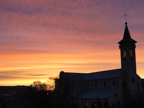 sunset church night europa cloudy poland polska kościół pabianice parafia łódzkie miłosierdzia bożego województwo województwołódzkie electroofoxxpl