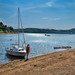 Small photo of Sailing on a lake