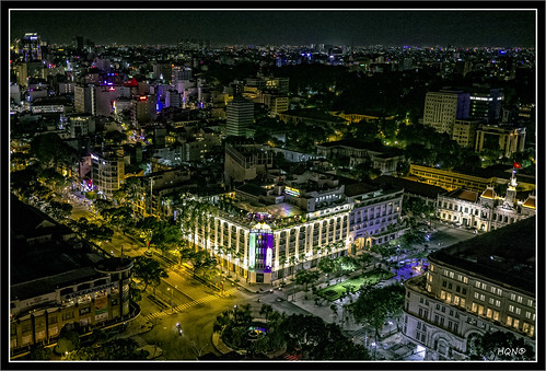 Saigon by night ~ Vietnam