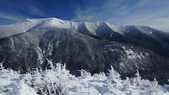 a view from cannon mountain, new hampshire