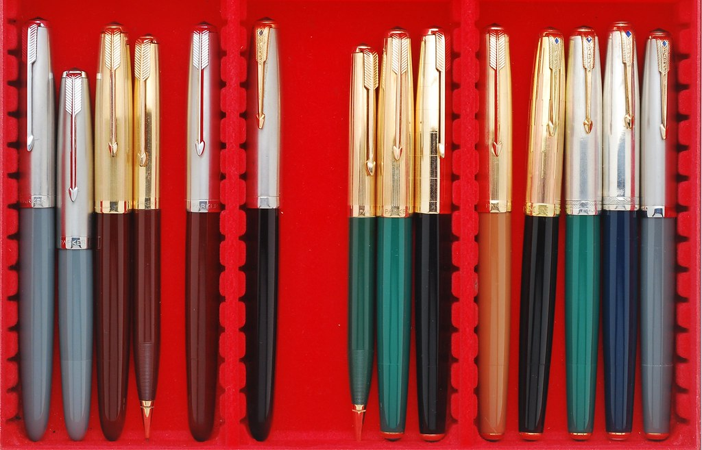 "Parker 51 Eye Candy. - PARKER: (USA ""Big Five"") - Fountain ..."