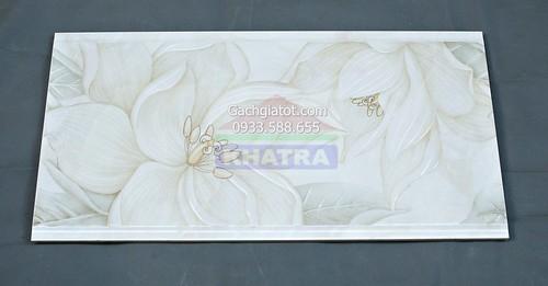 Gạch điểm trang trí hoa lan