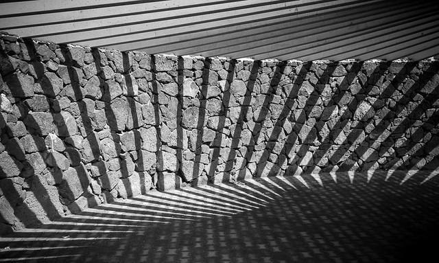 A fan of shadows