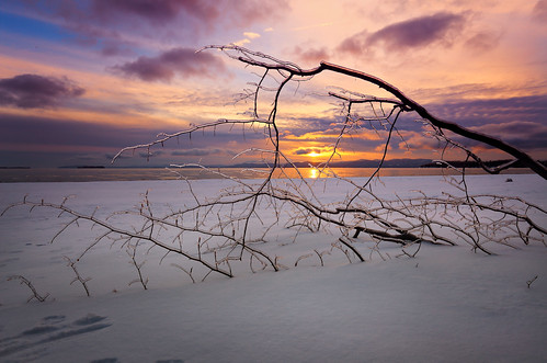 winter sunset snow ice canon vermont branch 1740l leddybeach