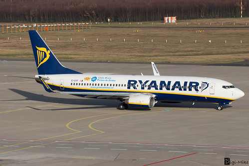 EI-DYF - Boeing 737-8AS(WL) - Ryanair