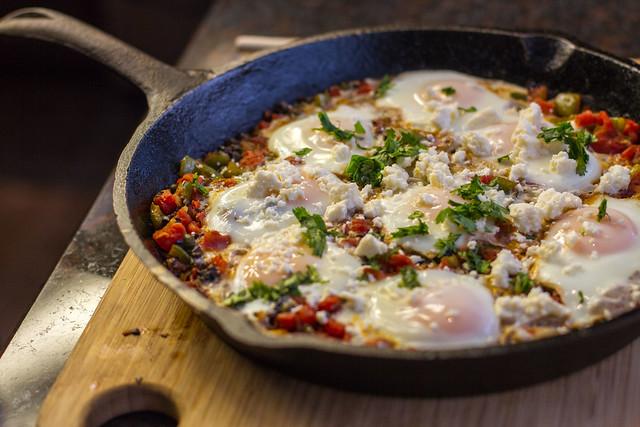 Huevos Veracruz