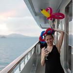 Emily vs. a balloon animal