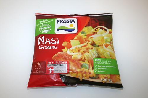 01 - Frosta Nasi Goreng - Beutel vorne / Bag front