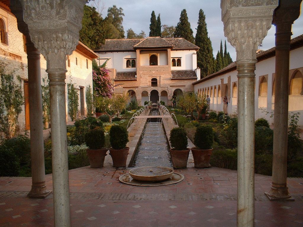 7. Patio interior del Generalife. Autor, Matteo
