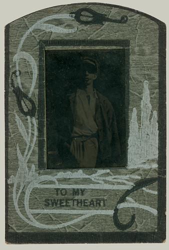 Tintype mounted