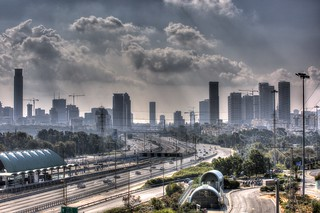 Winter day at Tel Aviv