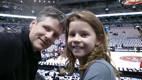 Me and my date at the #Raptors game