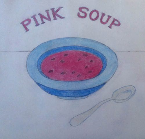 Pink Soup (Illustration as of Feb. 11, 2014) by randubnick