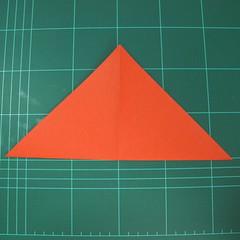 การพับกระดาษเป็นนกพิราบ (Origami pigeon) 00003