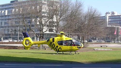 Start: ADAC Luftrettung Eurocopter EC-135