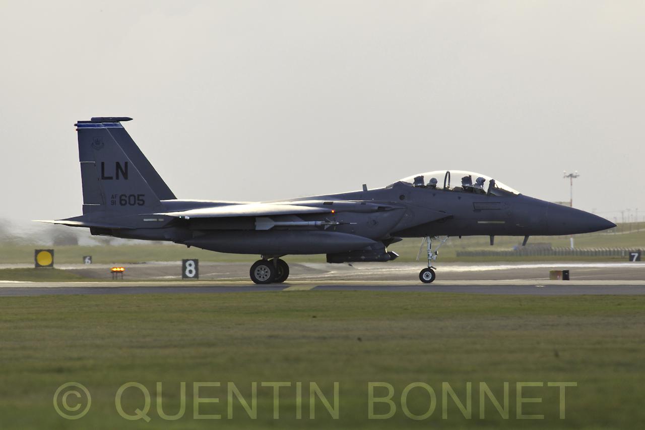 USAF McDonnell Douglas F-15C LN605