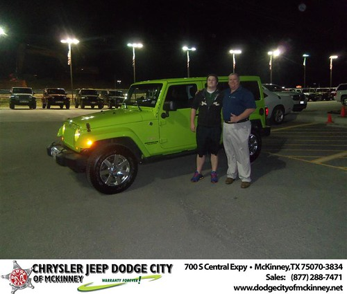 Happy Anniversary to Donald George on your 2012 #Jeep #Wrangler from Crosby Bobby and everyone at Dodge City of McKinney! #Anniversary by Dodge City McKinney Texas