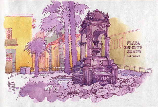 Plaza Espiritu Santo, Las Palmas de Gran Canaria