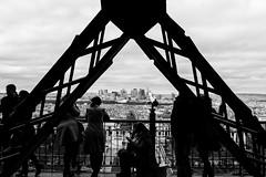 Tour Eiffel - Belle vue sur la Défense