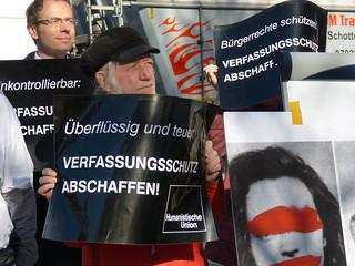 Aktion 12.3. München: Verfassungsschutz deckt NSU
