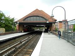 Hamburg - U-Bahnhof Mundsburg