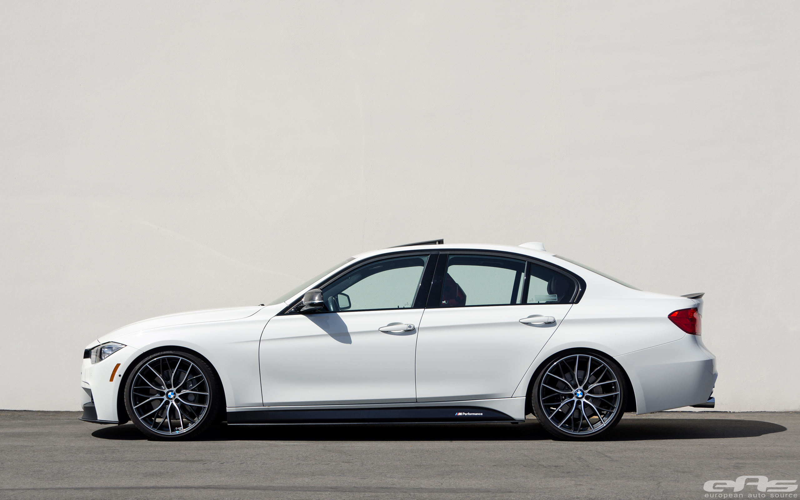 bmw m performance f30 335i gets lowered bmw performance. Black Bedroom Furniture Sets. Home Design Ideas