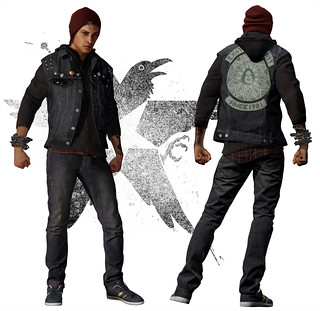 inFAMOUS Second Son Jacke 1