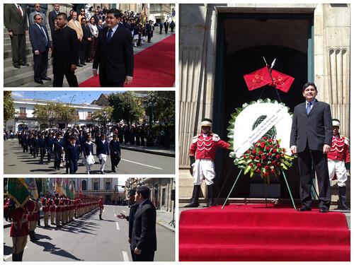 Conmemoración del natalicio de Benito Juárez
