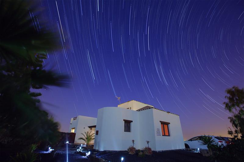 Fuerteventura Star-trails