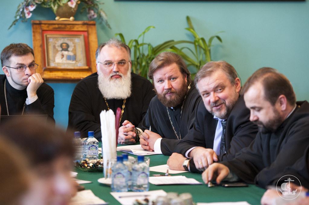 24 марта 2014, Заседание Оргкомитета празднования 700-летия Сергия Радонежского / 24 March 2014, Session of committee of the 700th anniversary of St. Sergius of Radonezh
