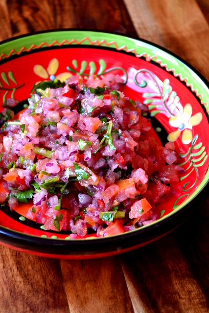 Tomato and Red Onion Salsa Recipe (2)