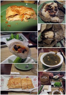 Pictures of our food at Lock Cha Teahouse