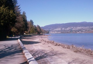 Sunny Stanley Park Seawall