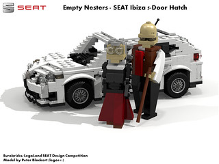 SEAT Ibiza MkIV - 5 Door Hatchback (Eurobricks Miniland Car Design Competition)