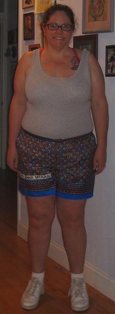 Burda8110 shorts