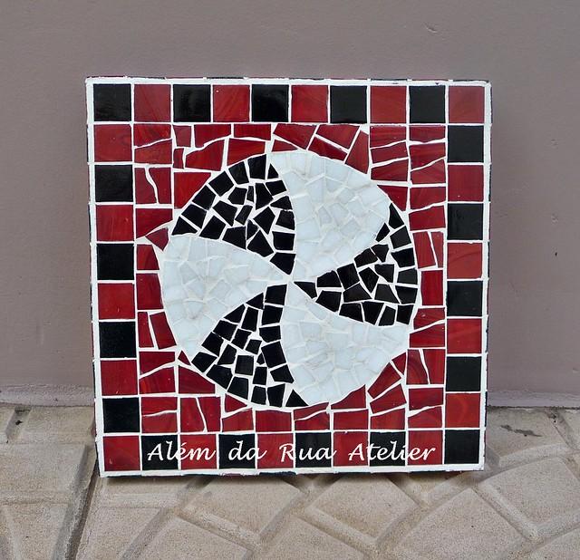 Quadro de mosaico - Tema infantil