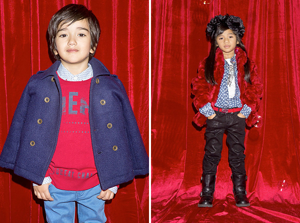 GUESS Kids Fall / Winter 2015 Collection