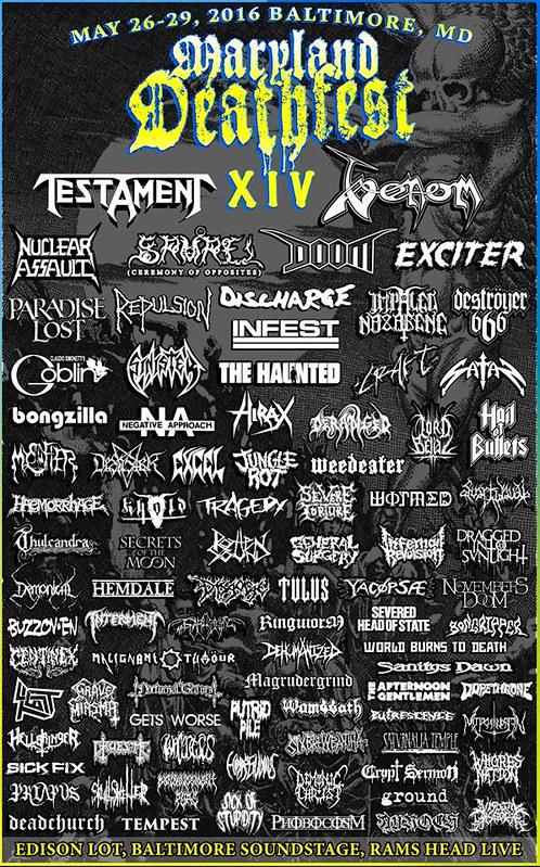 Maryland Deathfest XIV