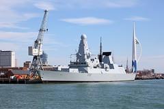 D32 HMS Daring 2nd August 2015