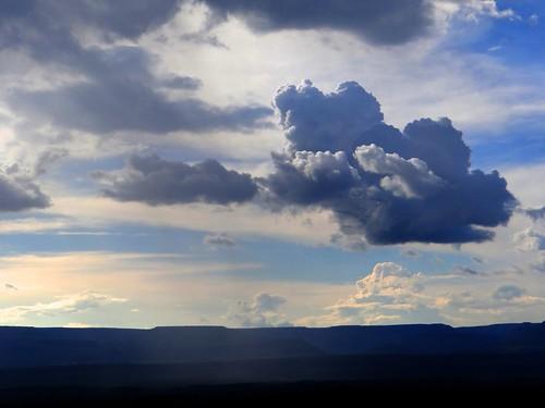 El cielo en temporada de lluvias (Tenanguillo, Zacatecas)