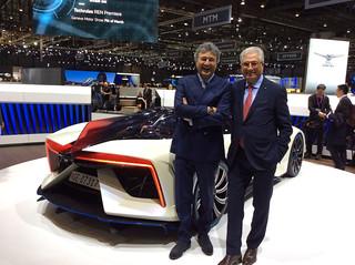 Fabrizio and Giorgetto Giugiaro 2017