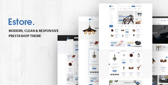 Estore v1.0 – Responsive Prestashop Theme