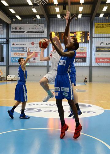 Grande Finale Fribourg Académie U16m -  Swiss Central Basket 41