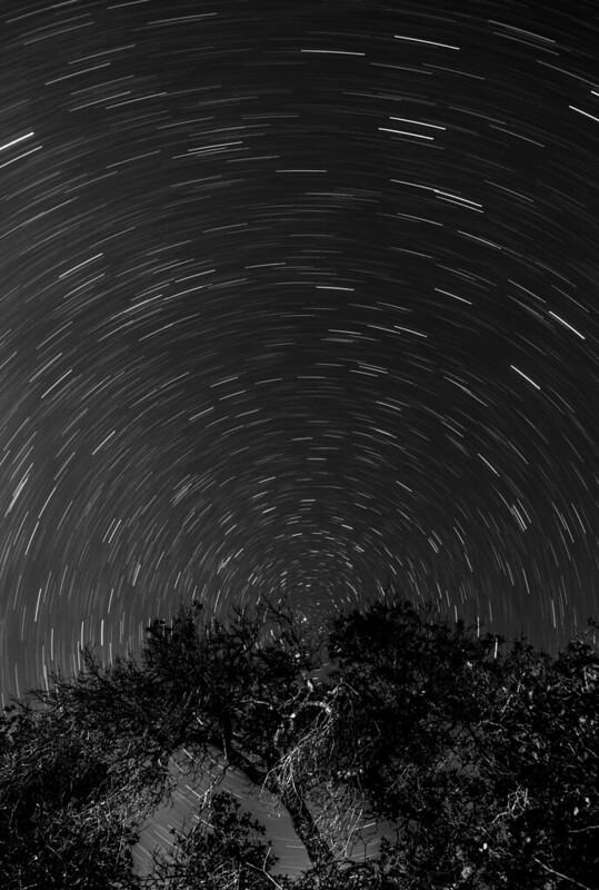 Star Trails - Lake Cachuma