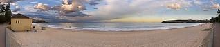 Imagem de  North Steyne Beach perto de  Northern Beaches. sunset panorama seascape beach manly australia