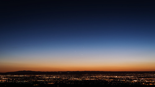 Jupiter, Venus, and Mercury