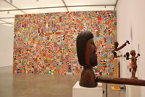 In the foreground, untitled 2004-2012.