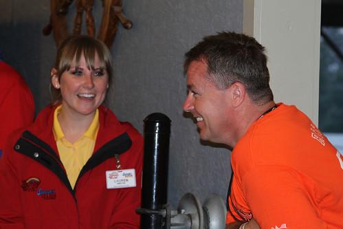 Lauren Koch and Andy Hine